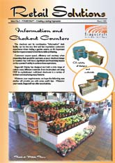 Retail Solutions is a series of case studies developed for Stagecraft, the UK's leading shop-fit display specialists to garden centres and DIY groups. The brochures are mailed out to businesses on the company's client data-base and to prospective clients.